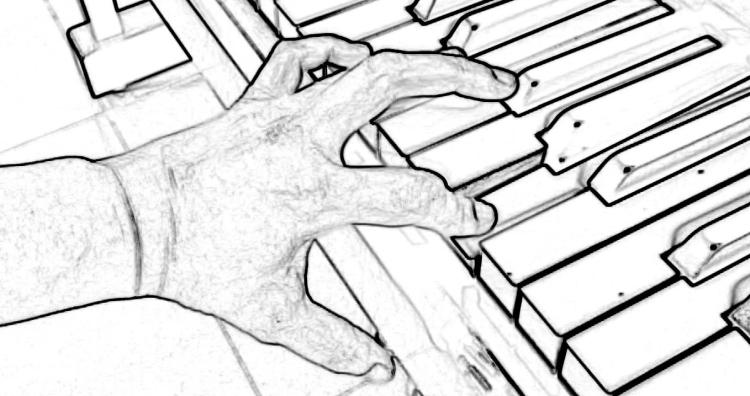 40 Piano hands crabby