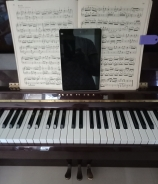 152 Tablet on Piano Book Stand